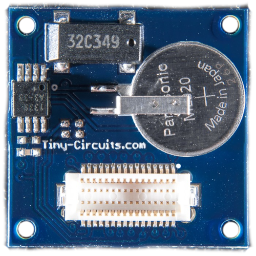 TinyShield Real Time Clock (RTC)