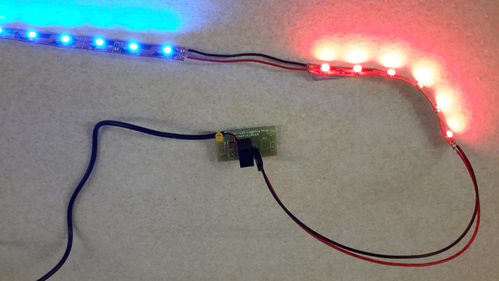 USB to 12V LED strip driver