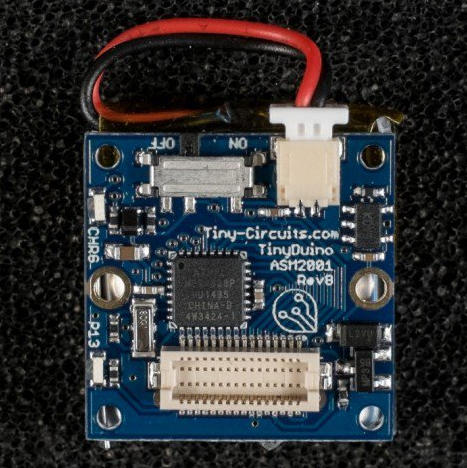 TinyDuino Processor Board + Li Battery Support