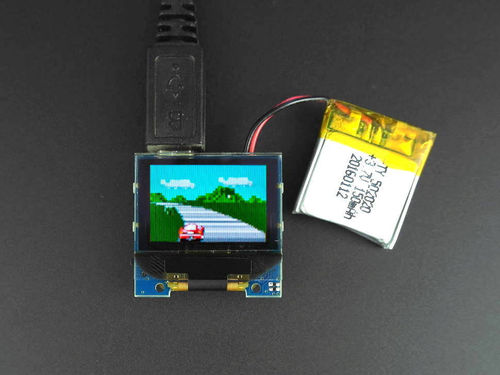 Tiny screen+